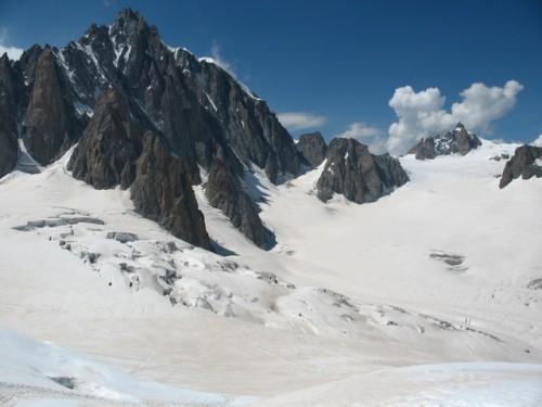 Seracchi della Vallee Blanche (Foto di Franco Tosolini)
