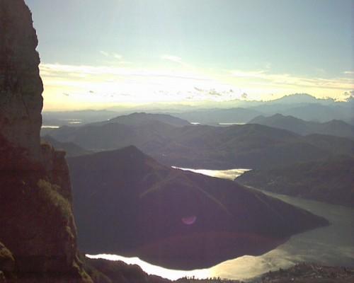 Monte San Giorgio dal Monte Generoso
