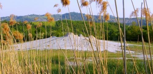 Vista panoramica delle Salse di Nirano.