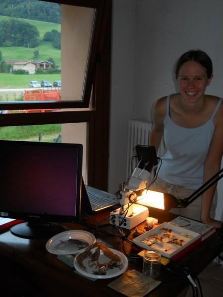 Gaia nel Laboratorio sulla Biodiversità