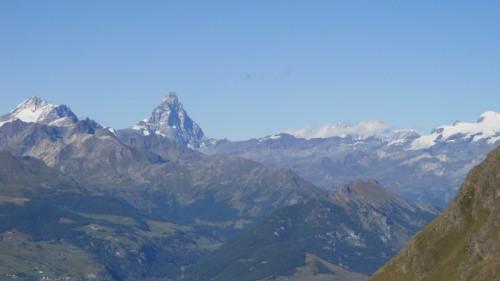 Monte Cervino dai Laghi di Laures (AO)