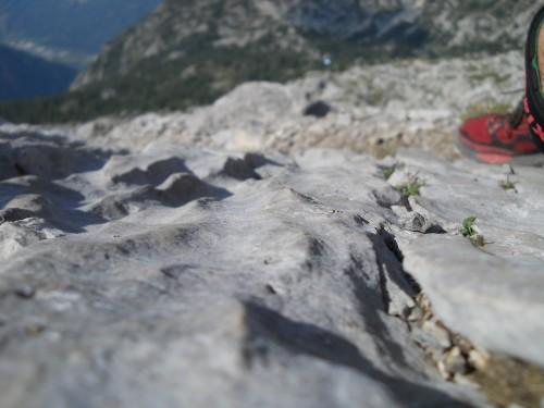 Karren - dissoluzione ed erosione sulla Cresta di Piancaformia in Grignone