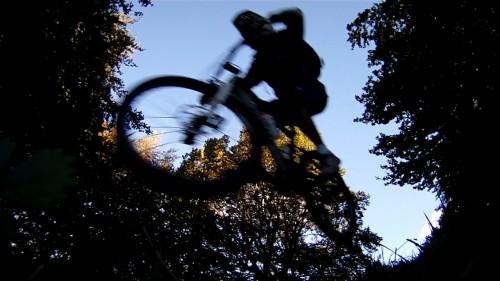 Un piccolo salto scendendo dal monte Generoso - Estate 2013