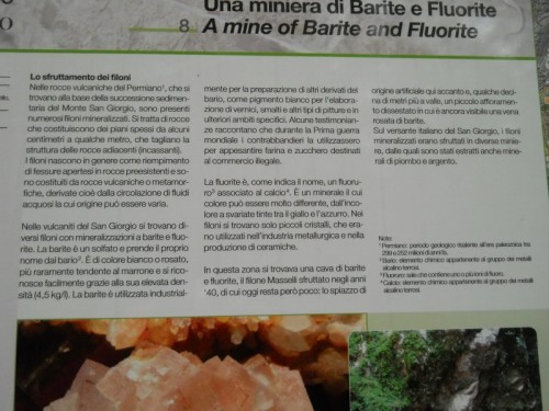 Miniera di Barite del Filone Maselli