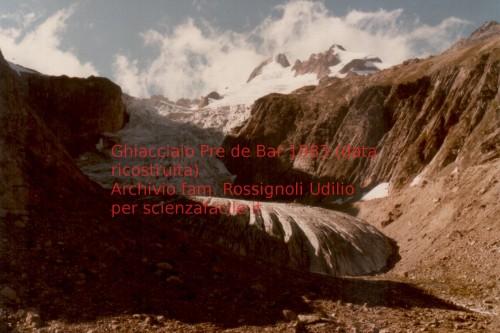 ghiacciaio di pre de bar 1983 sf