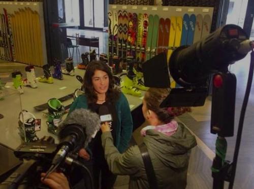 """Giulia Monego - intervistata a """"Mountain in the City"""" 16 ottobre 2014"""