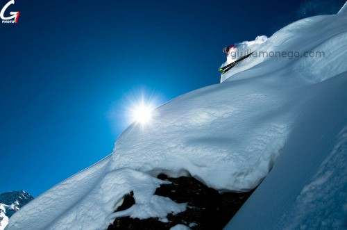 Giulia Monego - Action in the Alps