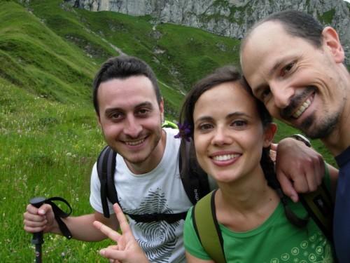 Gianlu, Laura e Ste